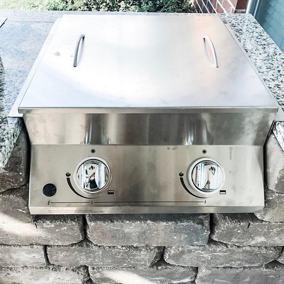 Outdoor Kitchen Cooktop