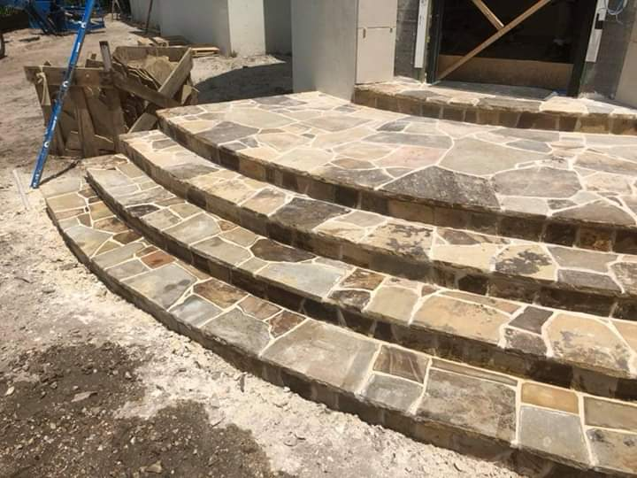 Flagstone Patio December 2