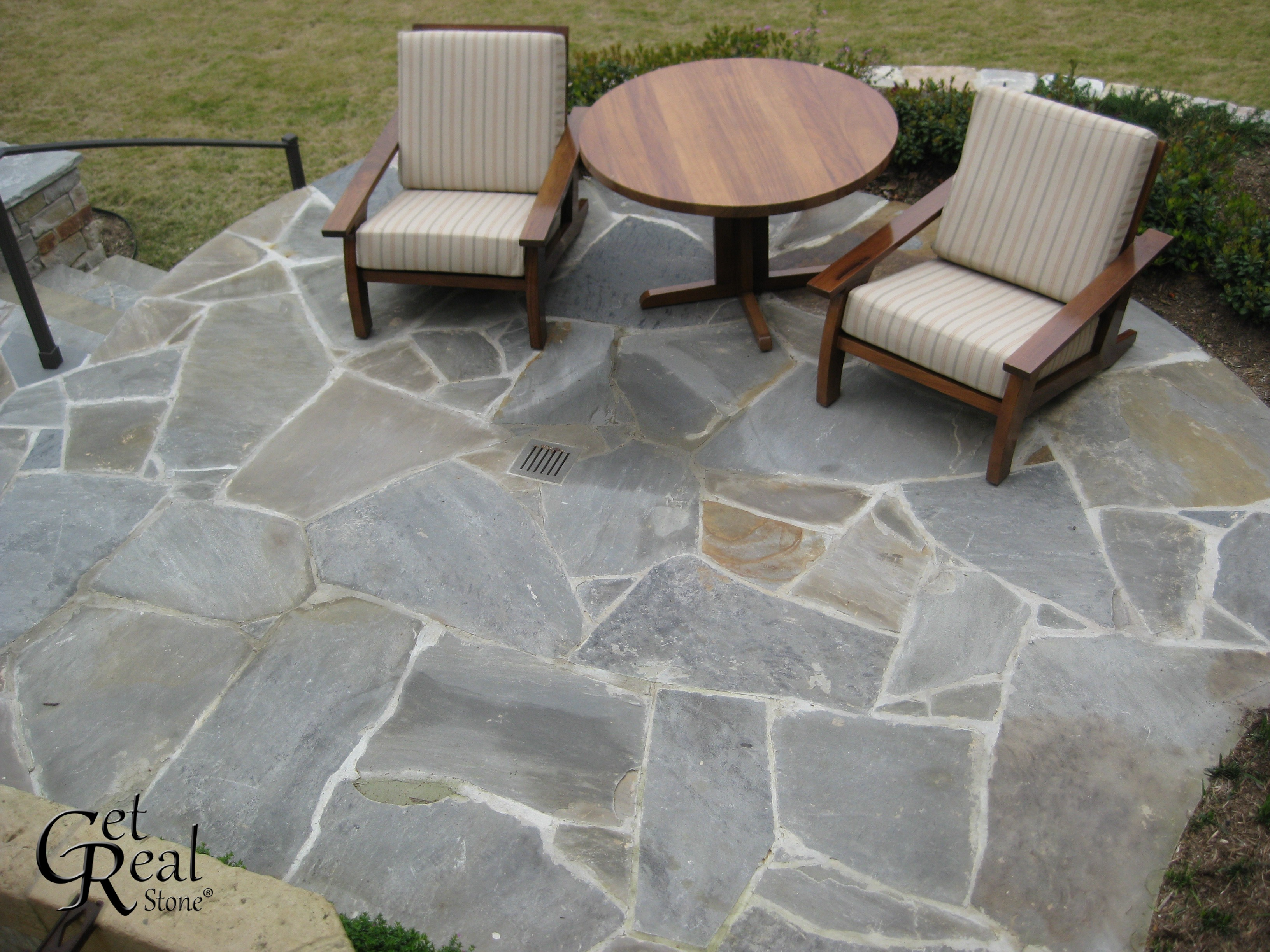 Flagstone Patio December 4